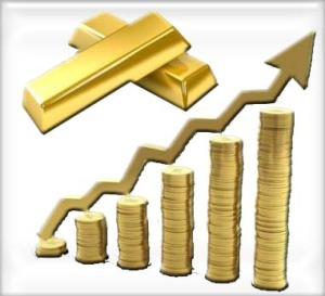 gold price is up on the highest level